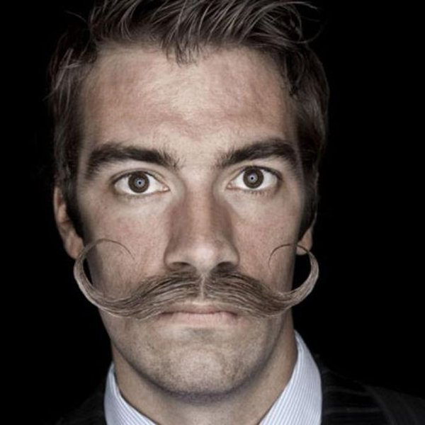 6. Russian style hipster mustache