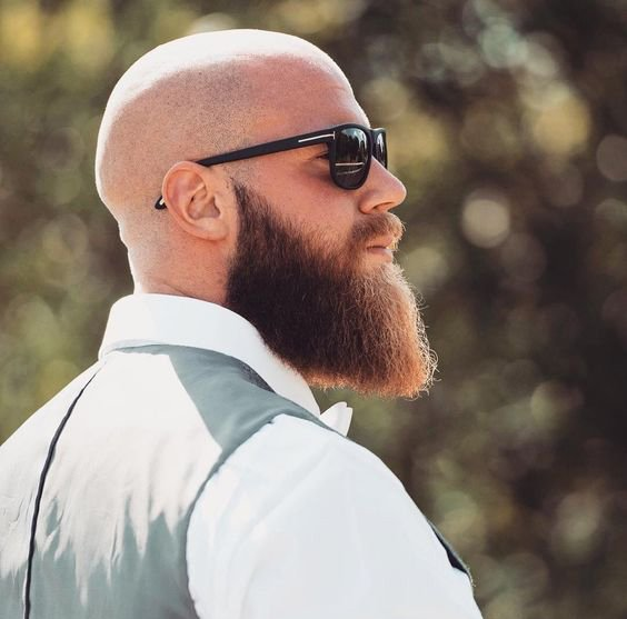 Style Hair Man: 7 Looks Beard Styles For Bald Men